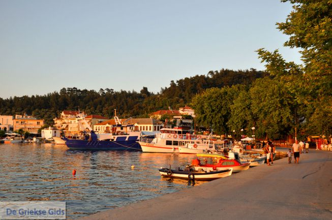 Haven Limenas - Thassos stad